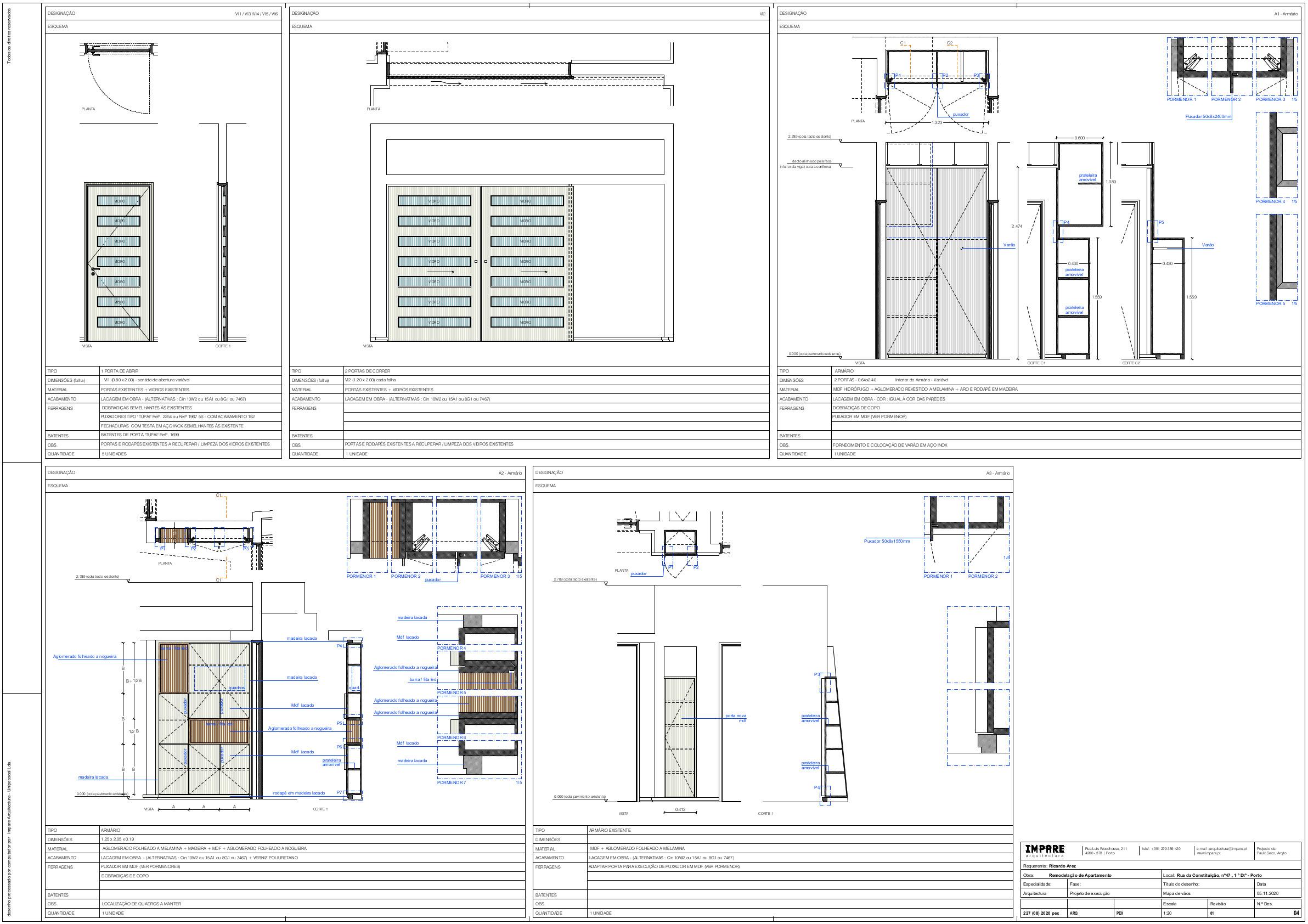 Impare_Arquitectura F04 - Mapa de vãos - pex20