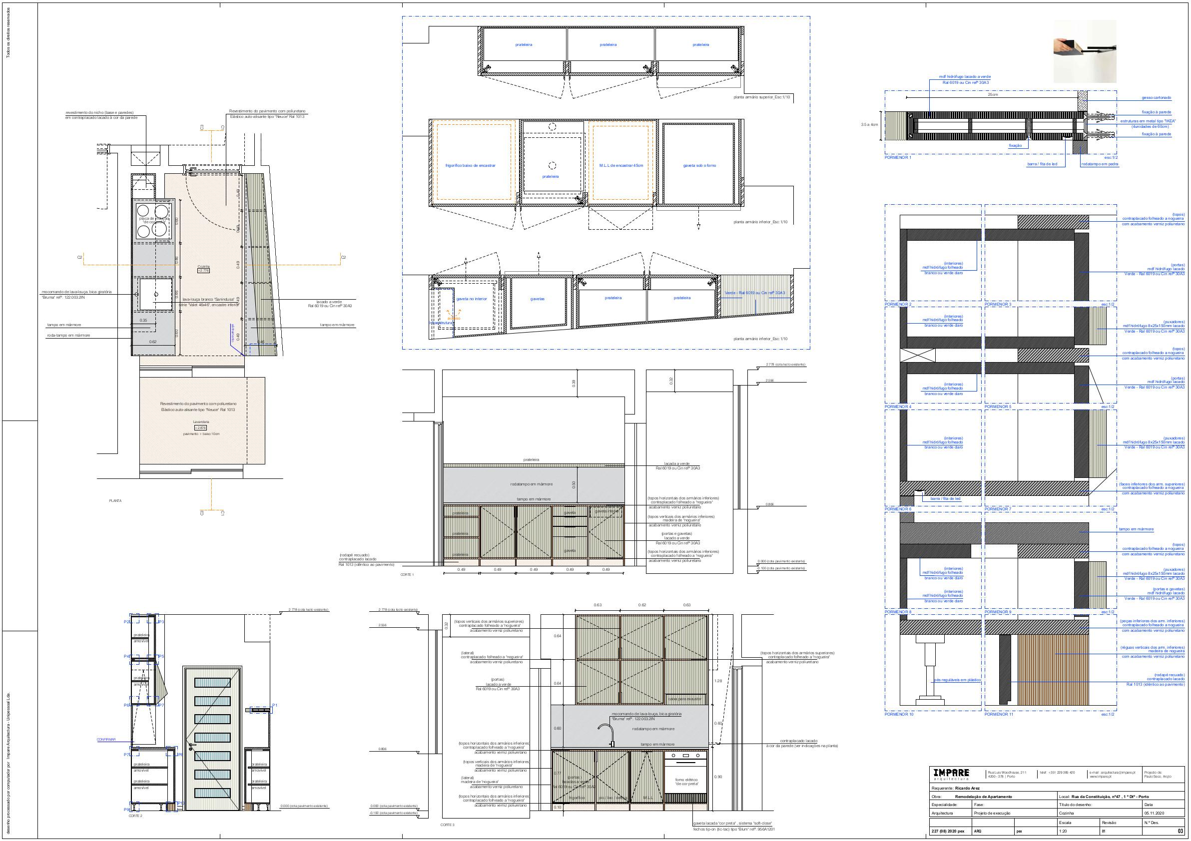 Impare_Arquitectura F03 - Cozinha - pex20